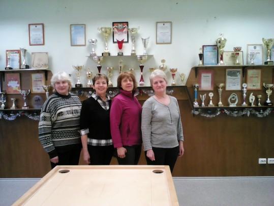 Rīgas sieviešu komandu čempionāta rezultāti