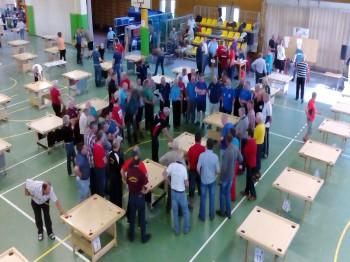 LSVS 54. sporta spēļu rezultāti novusā. 03.05.17.