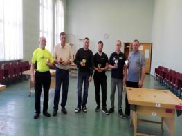 Rezultāti Ventspils dubultpēļu turnīram. 17.03.18.